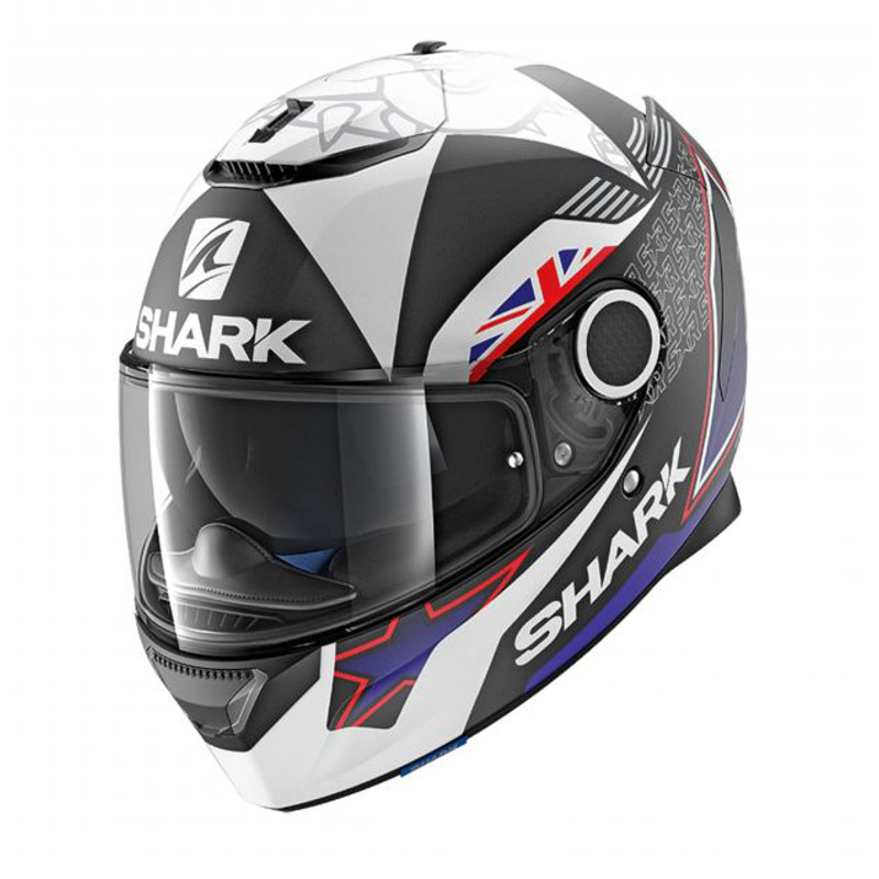 SHARK SPARTAN REPLICA REDDING MAT HE5050KBW - L