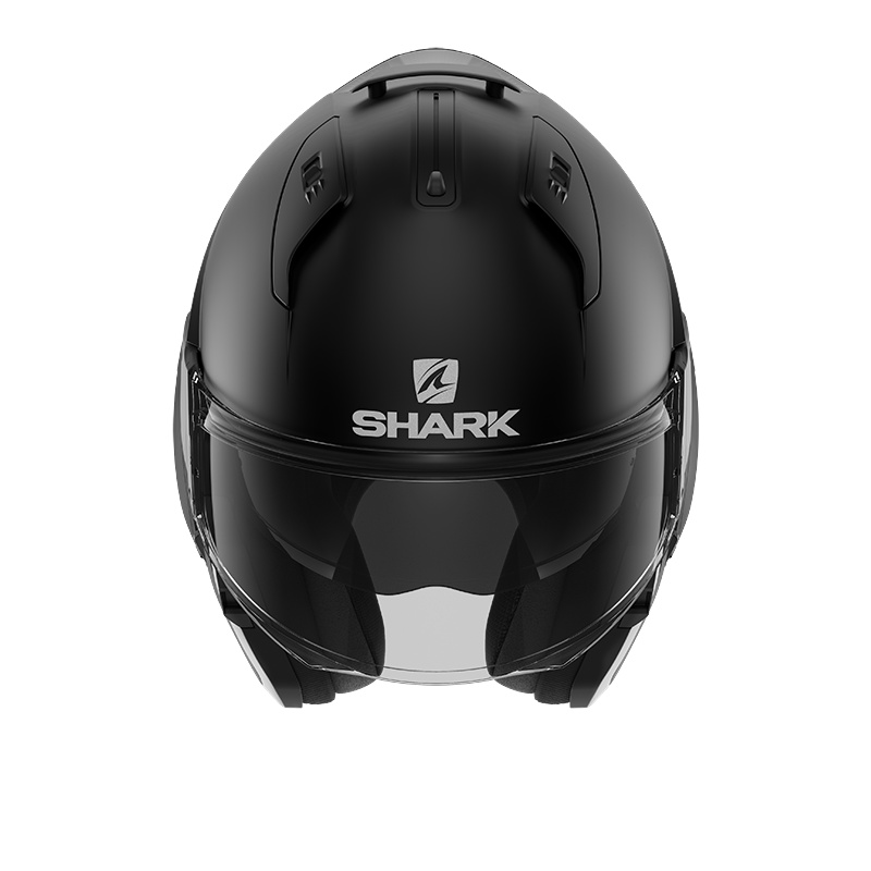 SHARK EVO ES BLANK MAT HE9802KMA - XS + Interkom SHARKTOOTH PRIME - BUNDLE