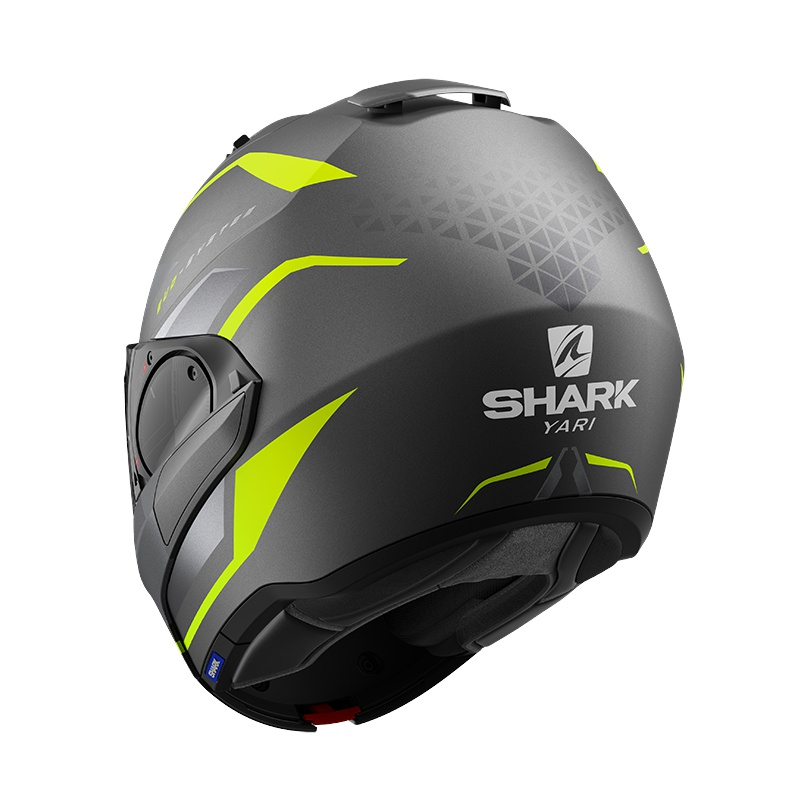 SHARK EVO ES YARI MAT HE9804AYS - L + Interkom SHARKTOOTH PRIME - BUNDLE