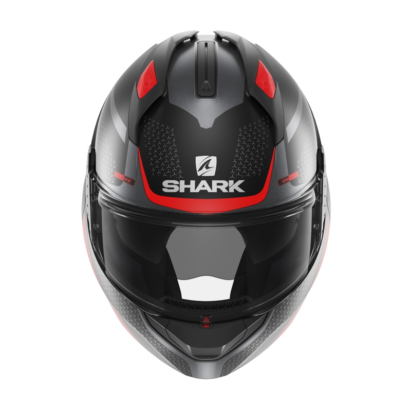 SHARK EVO-GT ENCKE MAT HE8915KRA - M + Interkom Interphone TOUR - BUNDLE